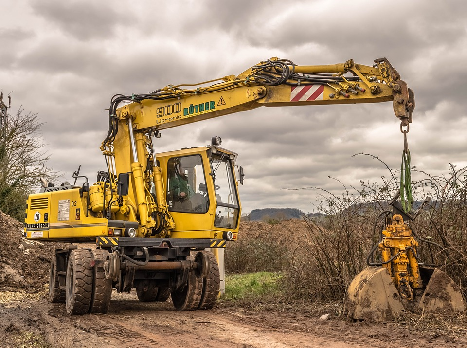 excavators construction machine - 4 Benefits of Drilling Wells in Different Angles