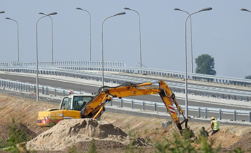 way building excavator the viaduct - 4 Benefits of Drilling Wells in Different Angles