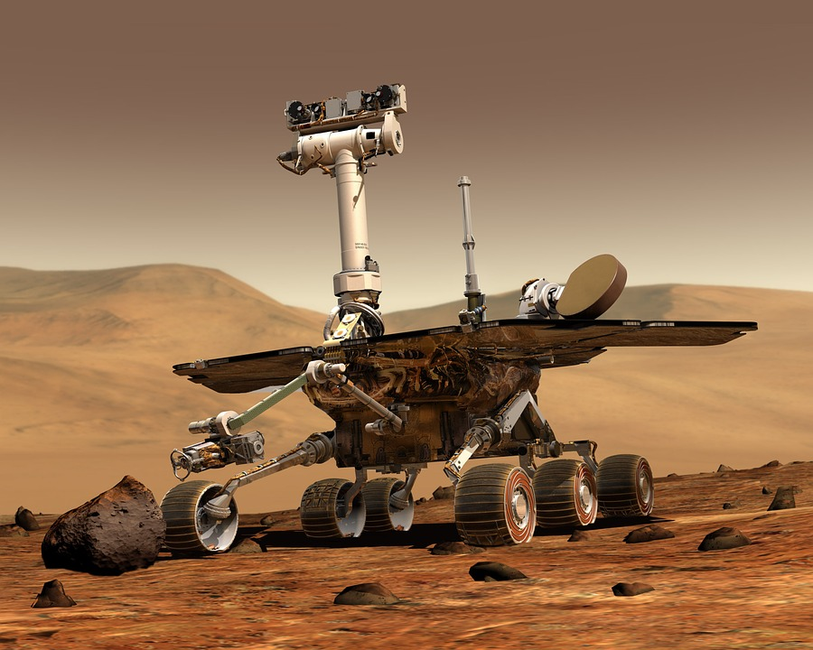 mars mars rover space travel robot - 8 Undeniable Benefits of Robots in the Oil and Gas Industry